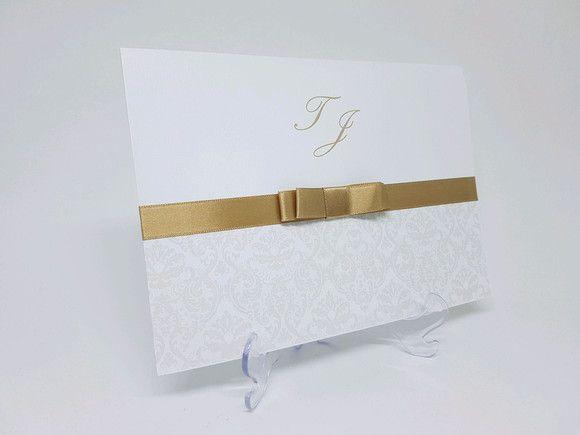 Convite casamento classico suave