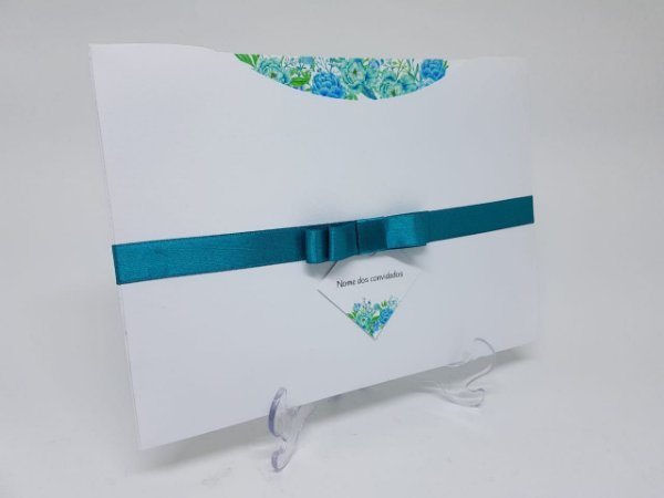 Convite Tiffany Debutante