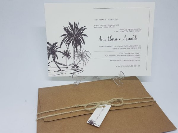 Convite praia