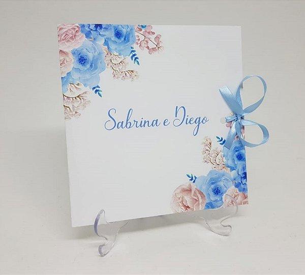 Convite azul serenity