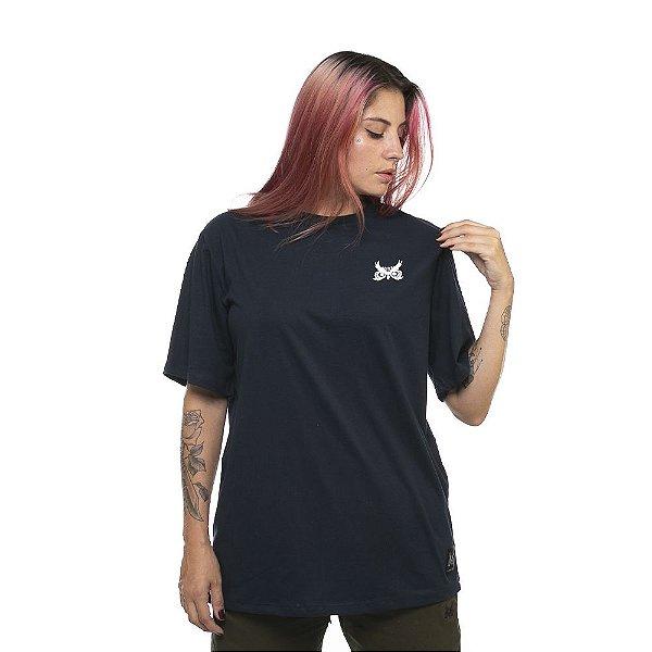 Camiseta OWL Logo Básico - Azul Marinho