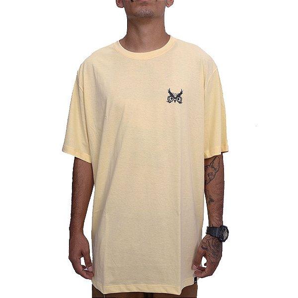 Camiseta Logo Básic - Amarelo Canário