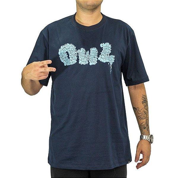 Camiseta Azul Marinho OWL - Bomb