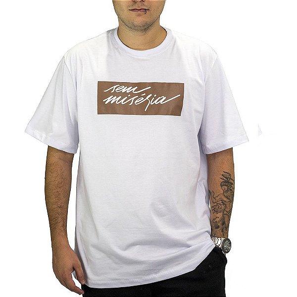 Camiseta Branca Sem Miséria Tag 2.0