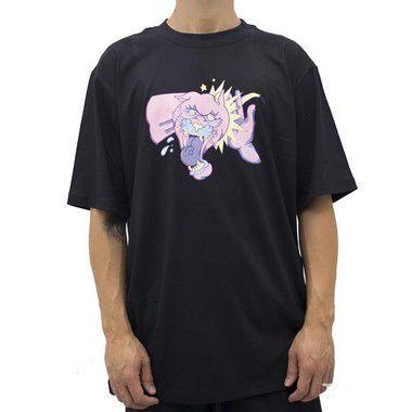 Camiseta Preta - Tapa na Pantera