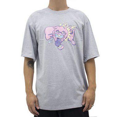 Camiseta Cinza Mescla - Tapa na Pantera