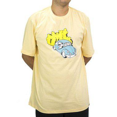 Camiseta Amarelo - Fusca Azul