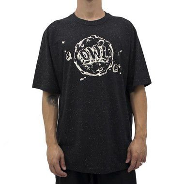 Camiseta Preto Botonê -  Lunático