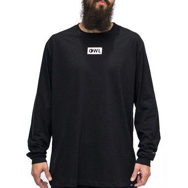 Camiseta M. Longa Preto -  Dublê