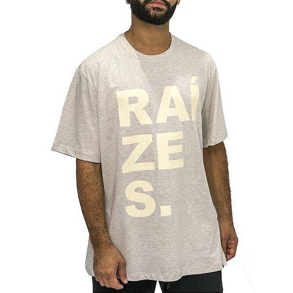 Camiseta Mescla Banana - Raízes