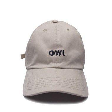 Boné Aba Curva Creme - OWL