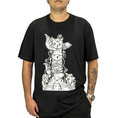 Camiseta Preta - Totem