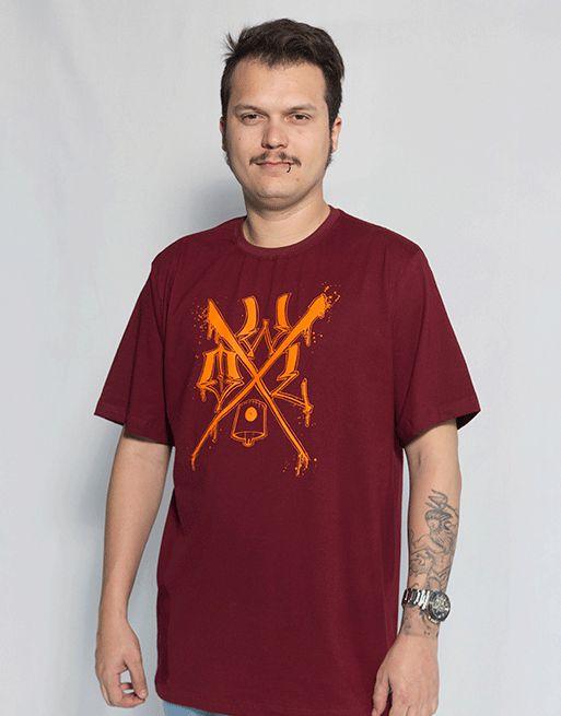 Camiseta OWL X - Bordô