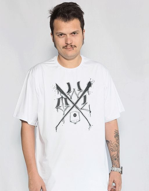 Camiseta OWL X - Branco