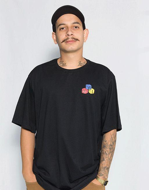 Camiseta Dados - Preto