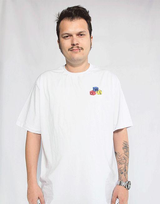 Camiseta Dados - Branco