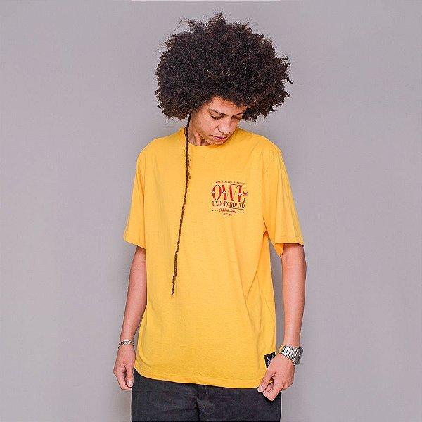 Camiseta Owl Original Series - Amarelo