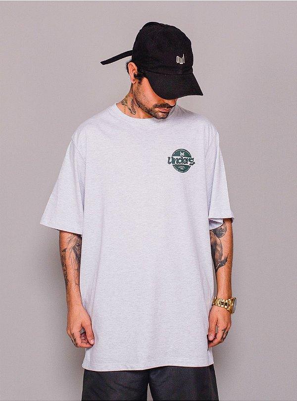 Camiseta Owl Underg - Mescla Algodão