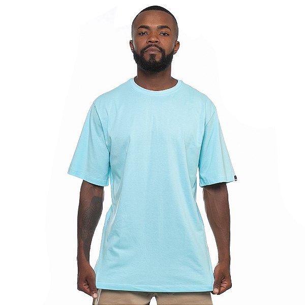 Camiseta Owl Lisa - Azul Ilhabela