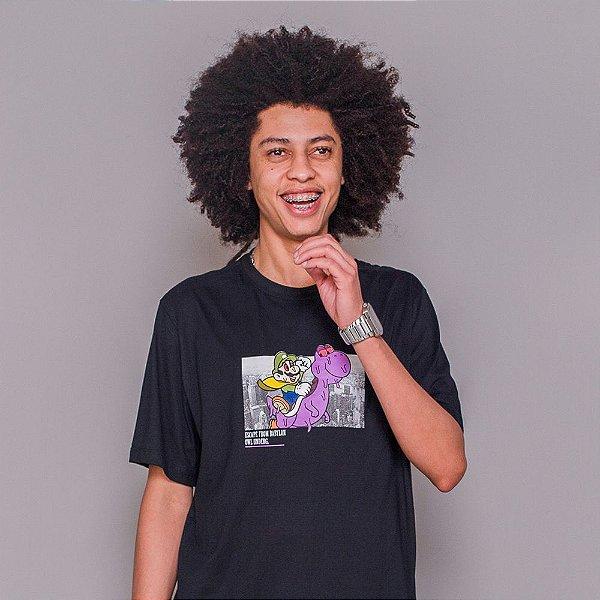 Camiseta Owl Escape - Preto