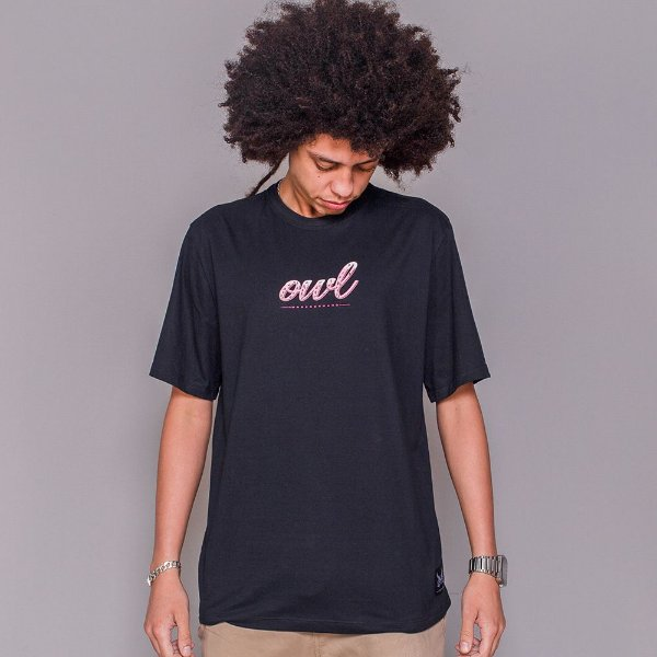 Camiseta Owl Candy - Preto