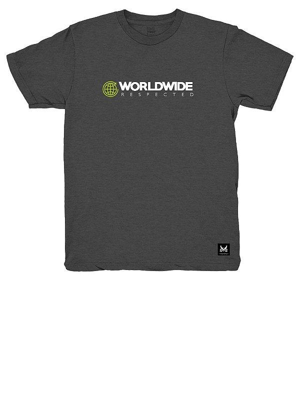 Camiseta Mundial - Cinza Chumbo