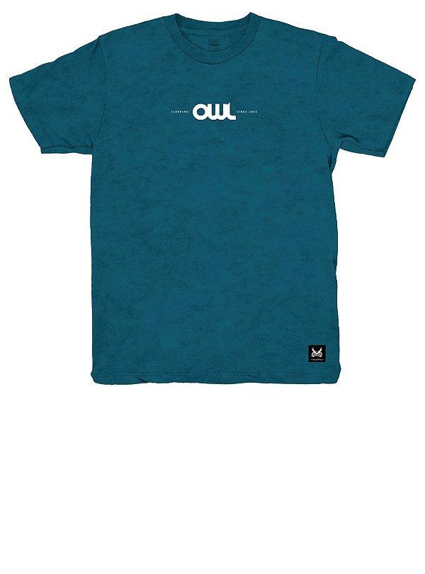 Camiseta New Stuff - Azul Cancun