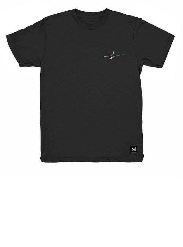 Camiseta Fluindo - Preto