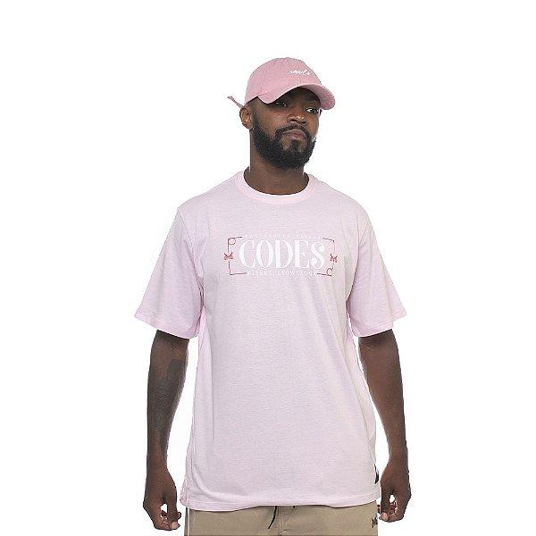 Camiseta Owl Codes - Rosa BB
