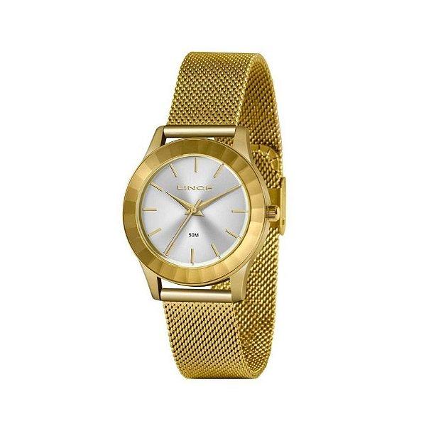 Relógio Lince Feminino Dourado LRG4670L S1KX