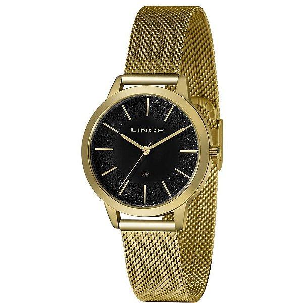 Relógio Lince Feminino Urban Dourado LRG4678L-P1KX