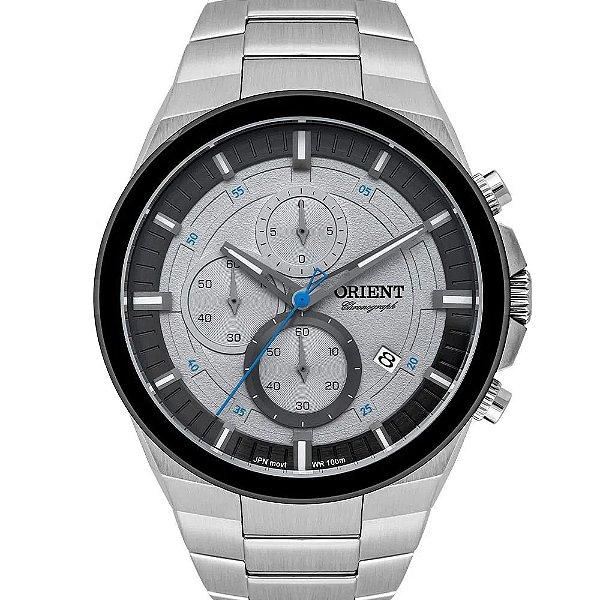 Relógio Masculino Analógico Orient Prata - MBSSC227G1SX