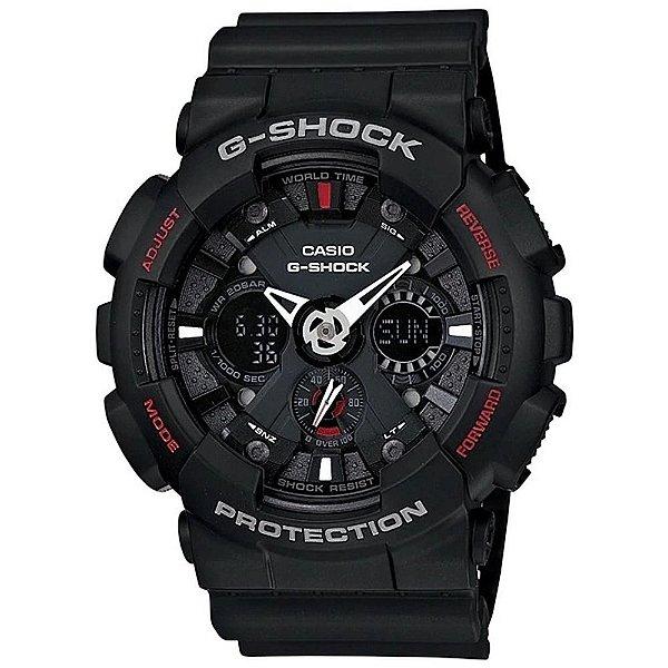 Relógio Casio Masculino Analógico Preto GA-120-1ADR