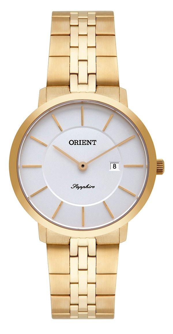 5038558af85 Relógio Orient Feminino Slim FGSSS005-S1KX - Perolashop