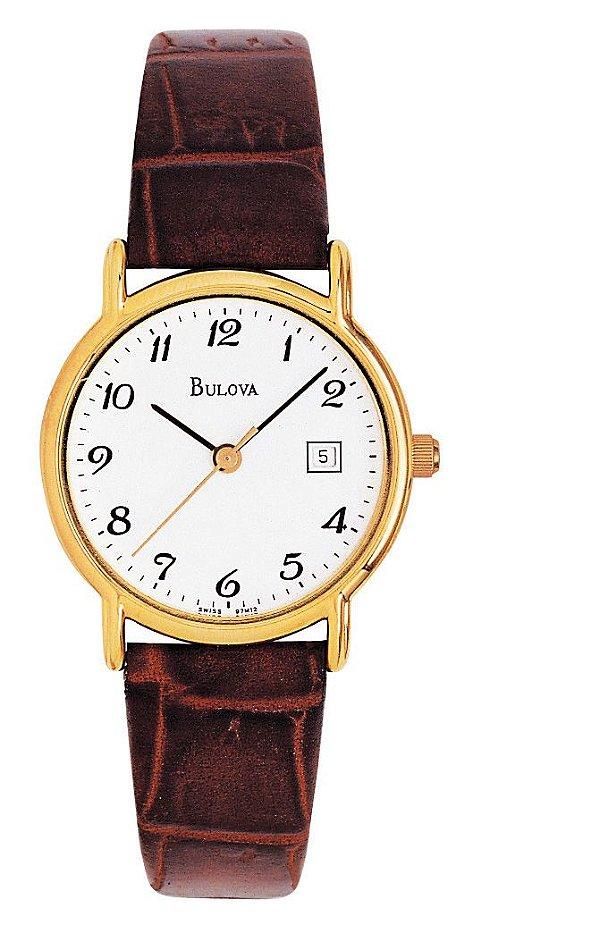 5833babc114 Relógio Bulova Feminino WB28788B Analógico - Perolashop
