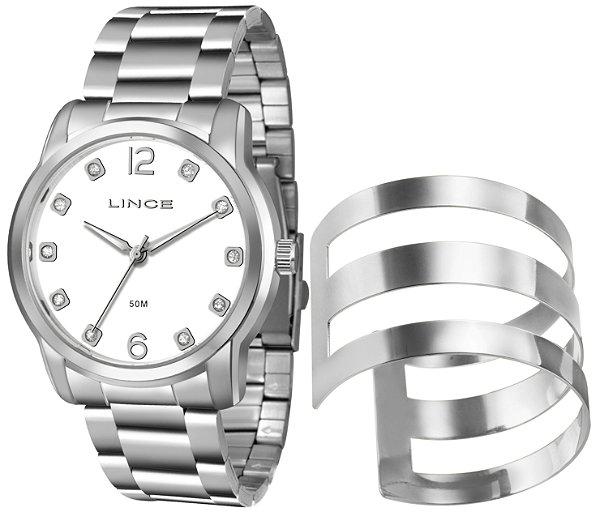 bab1db76b69 Kit Relógio Lince Femenino Com Bracelete - LRM4391L-K193B2SX ...