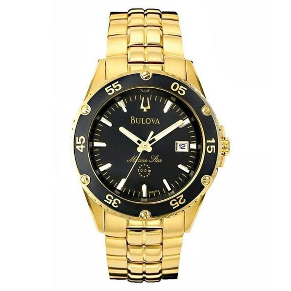 Relógio Bulova Masculino Marine Star WB21267B Analógico