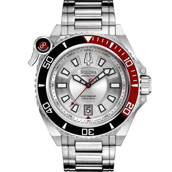 69168b8bf27 Relógio Bulova Precisionist WB31569Q Analógico - Perolashop