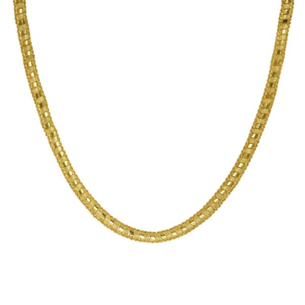 Gargantilha em Ouro 18k Taparela