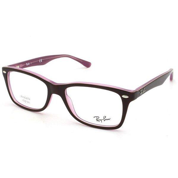 a447a7a42 Armação Óculos Ray Ban RB5228 2126-53-17 - Perolashop