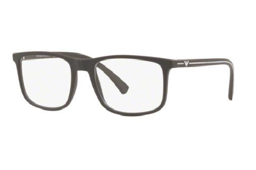 Armação  Óculos de Grau Emporio Armani EA3135 5693 Marrom