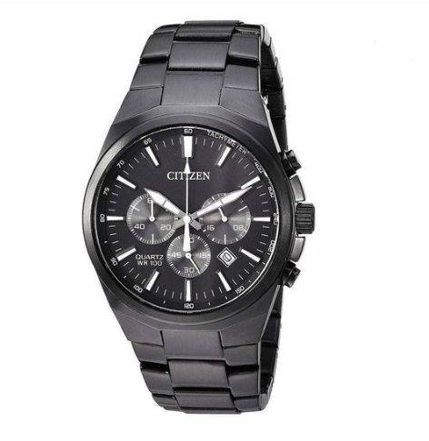 Relógio Citizen Masculino TZ31105P Cronógrafo Black