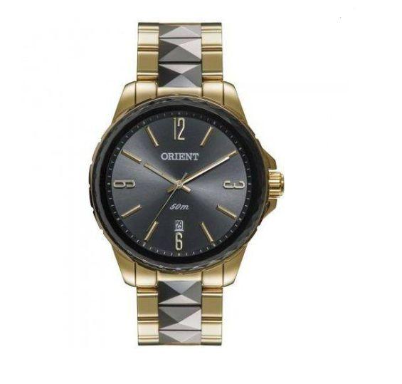 Relógio Feminino Orient FTSS1082-G2KS 41mm Aço Dourado