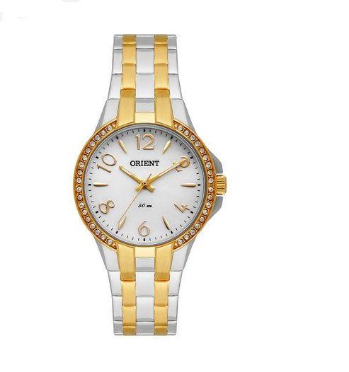 Relógio Orient Feminino Eternal Cristais Swarovski Analógico FTSS0046 S2SK
