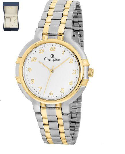 Relógio Champion Feminino CH22082D kit