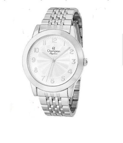 Relógio Champion Feminino Ref: Cn28428q Casual Prateado