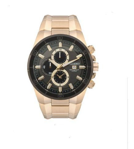 Relógio Orient Masculino Cronógrafo MGSSC004 G1KX Dourado