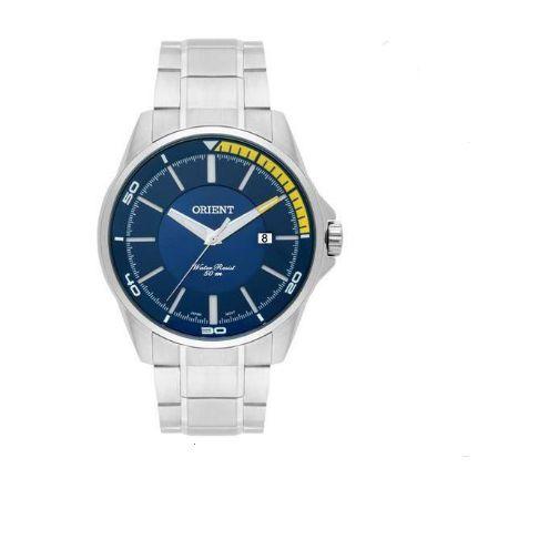 Relógio Masculino Orient MBSS1296 D1SX Analógico Prata