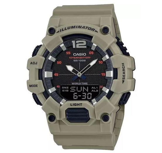 Relógio Masculino Casio Anadigi HDC-700-3A3VDF-Verde