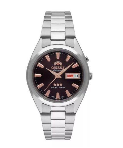 Relógio Orient Automático Feminino 469SS084 N1SX